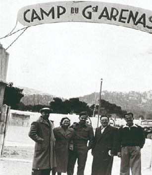 Le camp du grand Arenas