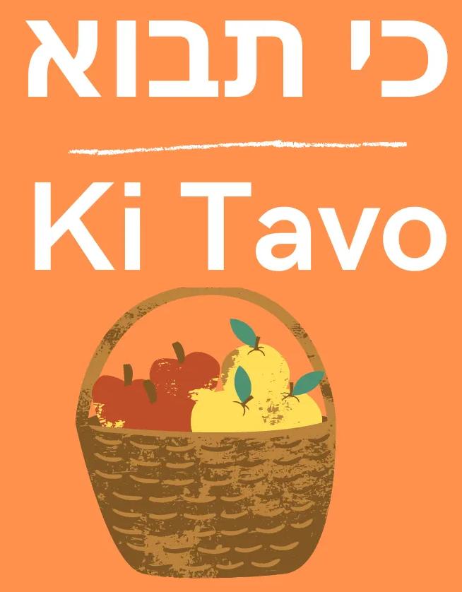Parashat Ki-Tavo