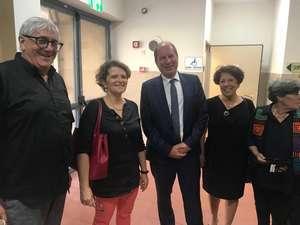 Visite de son excellence Eric DANON et Madame la Consule